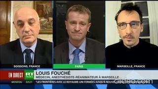 Le Dr Louis Fouché détruit 2 politiques en direct de LREM et de l'UDI sur le Vaccin Pfizer