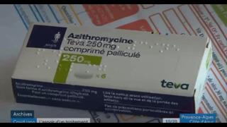 Traitement précoce avec l'azithromycine de moins de 10 euros