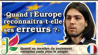 Un membre Croate secoue le parlement européen